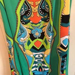 MSK Dresses - BRIGHT RETRO DRESS